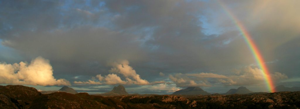 Suilven from Achmelvich. Photo (c) Chris Goodman