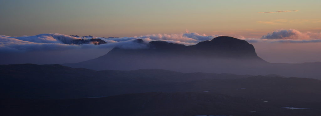Suilven from Quinag. Photo (c) Chris Goodman
