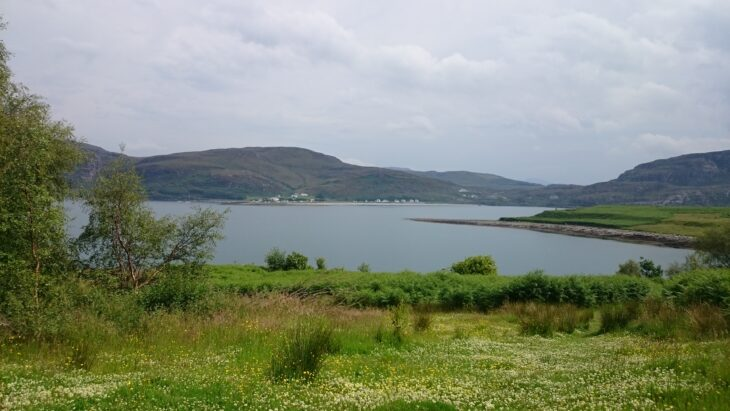 view from isle martin croft