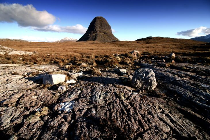 Suilven – inspiring poets, painters, photographers and more. Photo © Chris Goodman