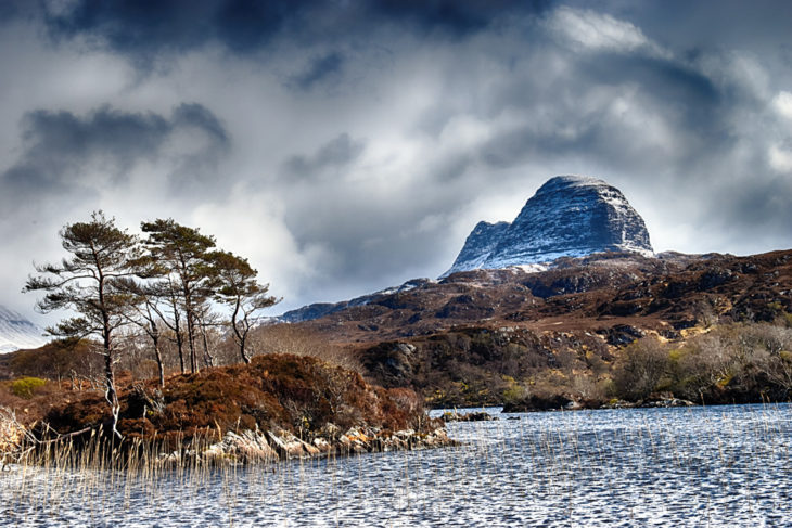 The view of Suilven from Glencanisp. Photo © Chris Puddephatt.