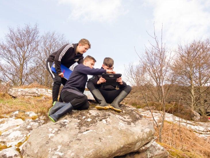 Documenting nature in the 21st Century. © Katrina Martin/Scottish Wildlife Trust