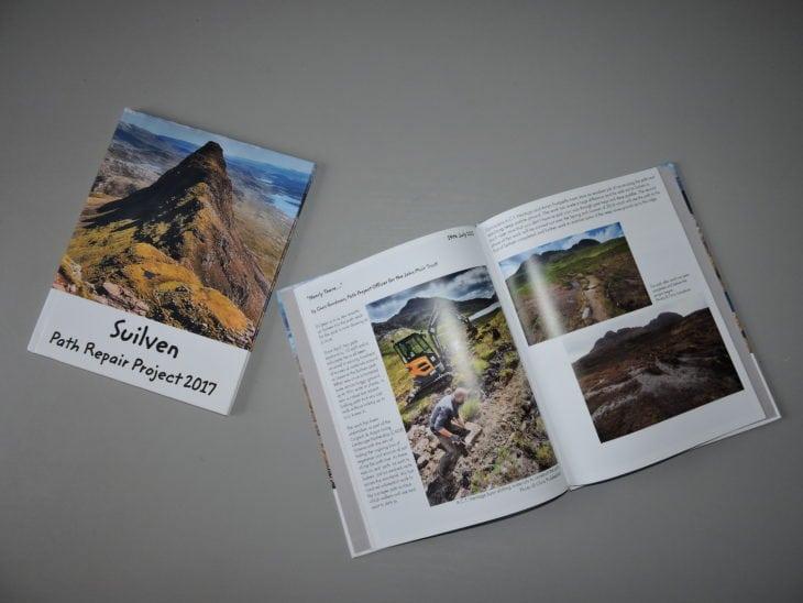 Suilven Photobooks © Laura Traynor/Scottish Wildlife Trust