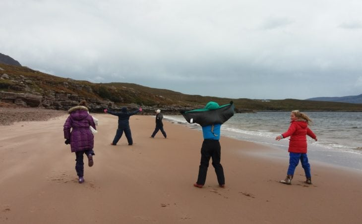 Getting windswept! © Katrina Martin/Scottish Wildlife Trust
