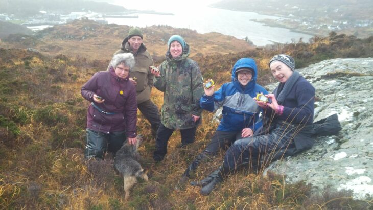 GPS training day 1 © Fiona Saywell/Scottish Wildlife Trust