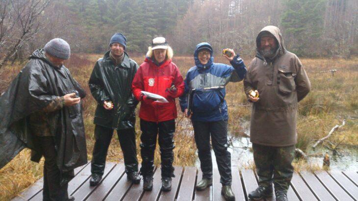 GPS training day 2 © Laura Traynor/Scottish Wildlife Trust