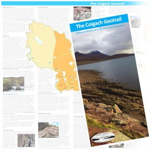 Coigach Geotrail map © Achiltibuie Tourism Association