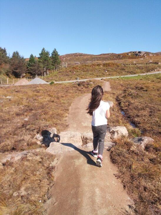 Acheninver Path at East Acheninver © Boyd Alexander/Scottish Wildlife Trust