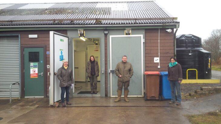 CALLP team at Lairg deer larder
